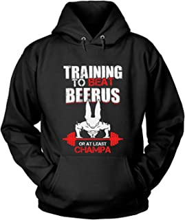 Training to Beat Champa T Shirt, Beerus T Shirt - Hoodie
