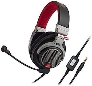 Audio Technica ATHPDG1 Open-Air Premium Gaming Headset, Red/Gray/Black