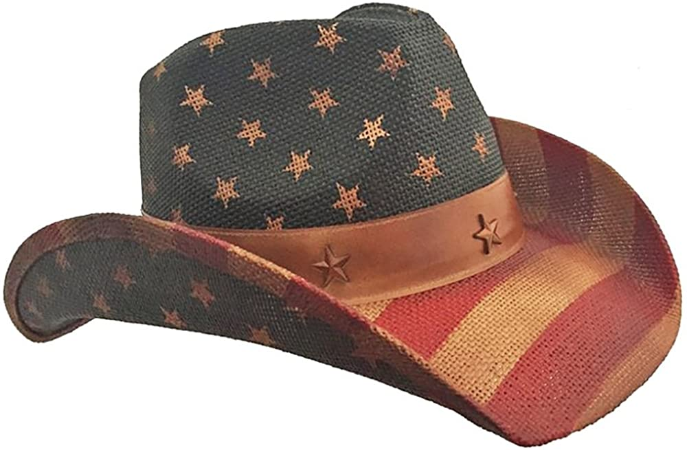 American Brand new Flag Vintage Cowboy New arrival Hat