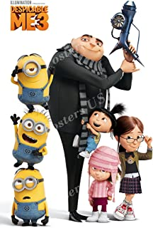 Posters USA Despicable Me 3 Movie Poster GLOSSY FINISH - FIL554 (24