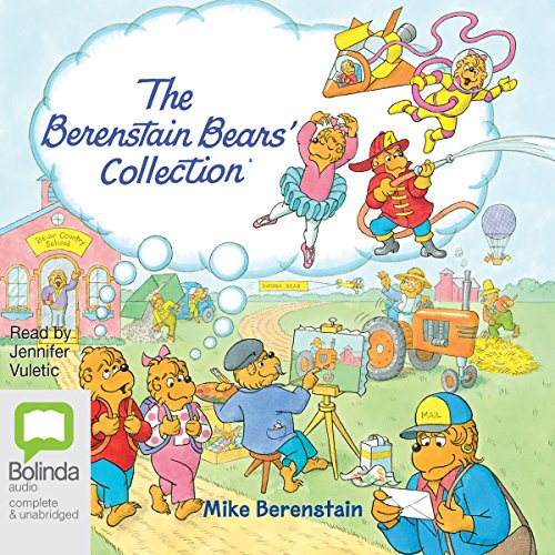 The Berenstain Bears Collection audiobook cover art