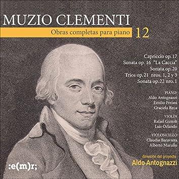 Muzio Clementi: Obras Completas Para Piano, Vol. 12
