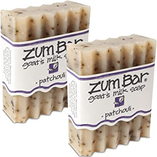 Zum Bar Goat's Milk Soap, Patchouli 3 oz (pack of 2)