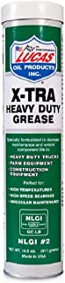 Lucas Oil 10301 X-Tra Heavy Duty Grease - 14.5 oz., sold as (Case of 10)