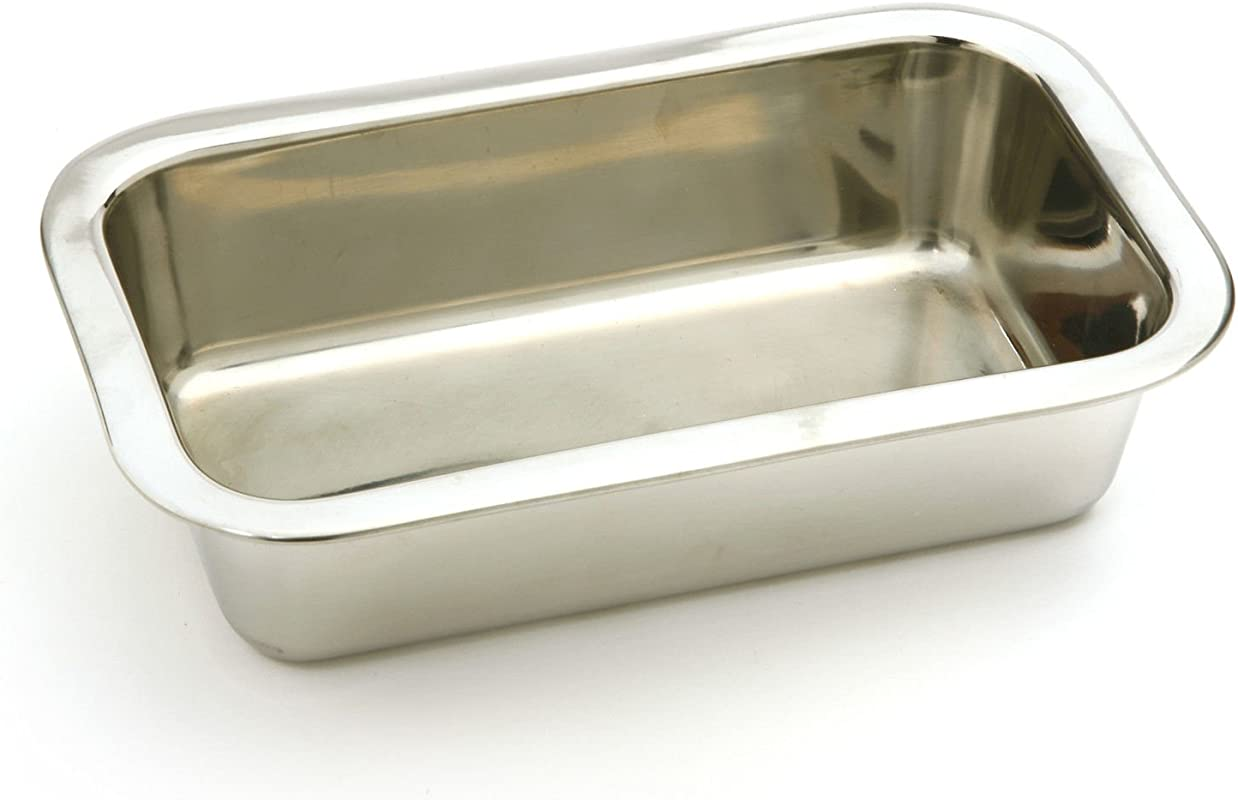 Stainless Steel 8 5 X 4 75 Bread Loaf Meatloaf Cake Pan