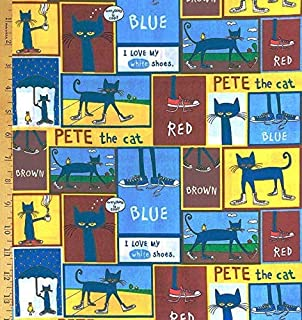 Best pete the cat fabric by the yard Reviews