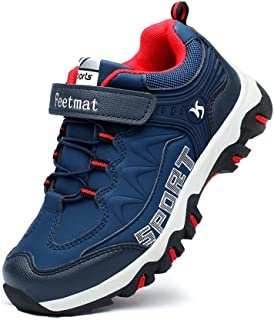 [Feetmat] スニーカー キッズ 子供靴 ランニングシューズ 防水 アウトドア ハイキング 運動靴 通学