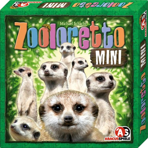 ABACUSSPIELE 04101 - Zooloretto Mini, Kinderspiel