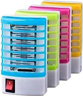 Mosquito Killer Light LED, (Super Ahorro de energía) 4 Piezas - Mata Mosquitos Moscas electrico matamoscas electrico atrapa electrico matamosquitos lampara antimosquitos Control