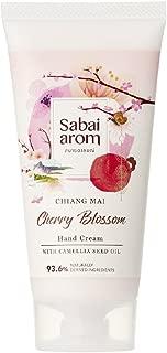 Sabai-arom Cherry Blossom Hand Cream 75 g. (4 Pack)