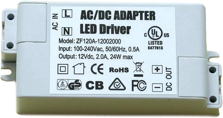 LED Driver Trasformatore Trasformatore Driver Premium LED a Bassa Tensione Trasformatore 12V 2A 24W AC DC Commutazione dellalimentazione elettrica Alimentatore Tensione Costante