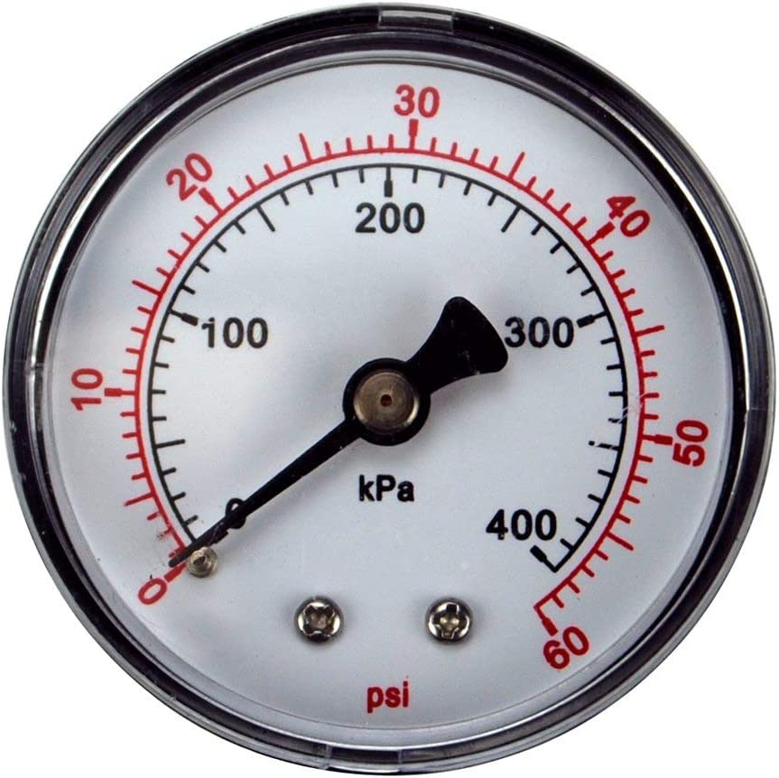 Pentair 33600-0023T 2-Inch Factory outlet Limited price sale Pressure Select Gauge Replacement for