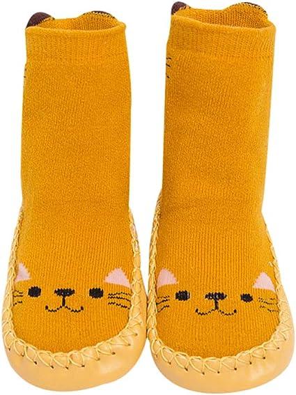 Calcetines para Beb/és Ni/ña Ni/ño Anti Deslizante Zapatillas Primera Infancia