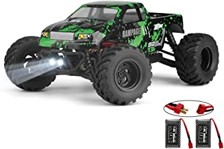 HAIBOXING 1:18 Scale All Terrain RC Car 18859E, 36 KPH High Speed 4WD Electric Vehicle with 2.4 GHz Remote Control, 4X4 Wa...