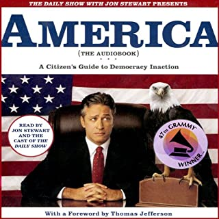 The Daily Show with Jon Stewart Presents America (The Audiobook) audiobook cover art