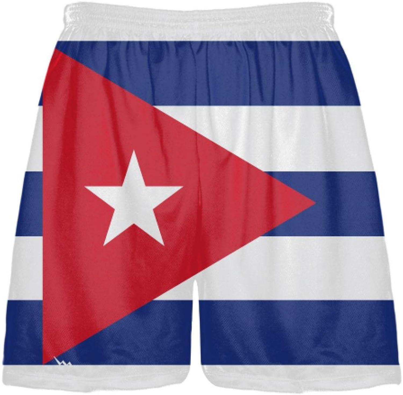 LightningWear Cuba Flag ShortsCuba Lacrosse Shorts