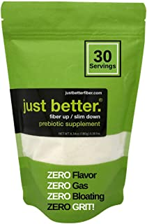 Sponsored Ad - Prebiotic Fiber Supplement for a Healthy Gut | Fiber Powder with Zero Grit Zero Taste and No Bloating or Ga...