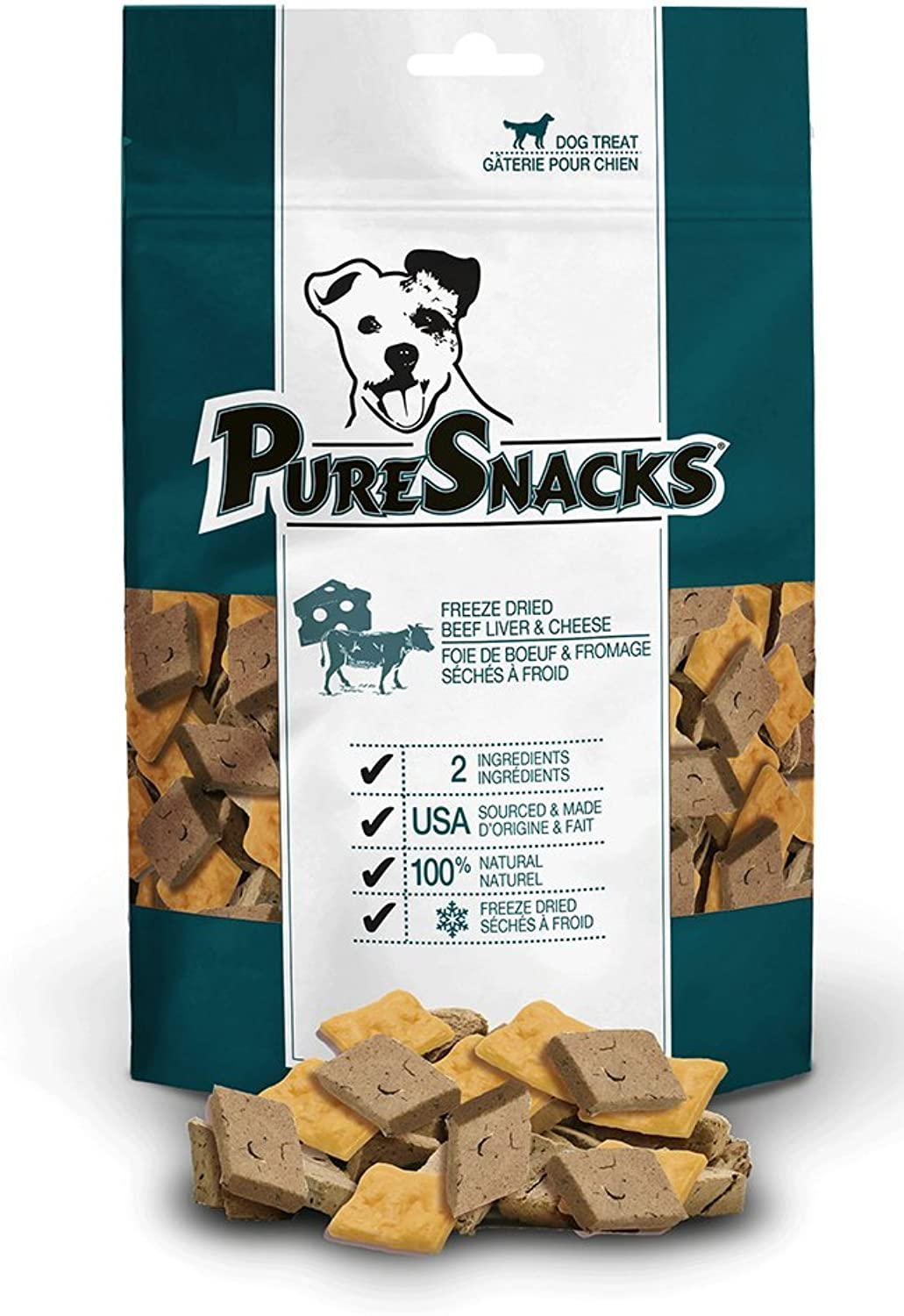 PureSnacks 2PS190BLCH5 PureBites Beef and Cheese 6.7 oz 190GValue Size, 1 Pack