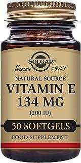 Solgar Vitamina E 134 mg (200 UI) Cápsulas blandas - Envase de 50