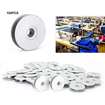 HEEPDD Bobinas de máquina de Coser de 100 Piezas, bobinas de Hilo ...