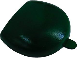 Peroni Firenze Portamonete a Tacco in Pelle Verde Scuro realizzato a mano
