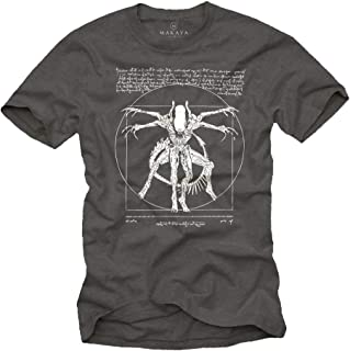 Camisetas Frikis Divertidas Hombre - T-Shirt Alien Isolation - Regalos Geek
