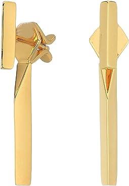 T-Bar Stud Earrings