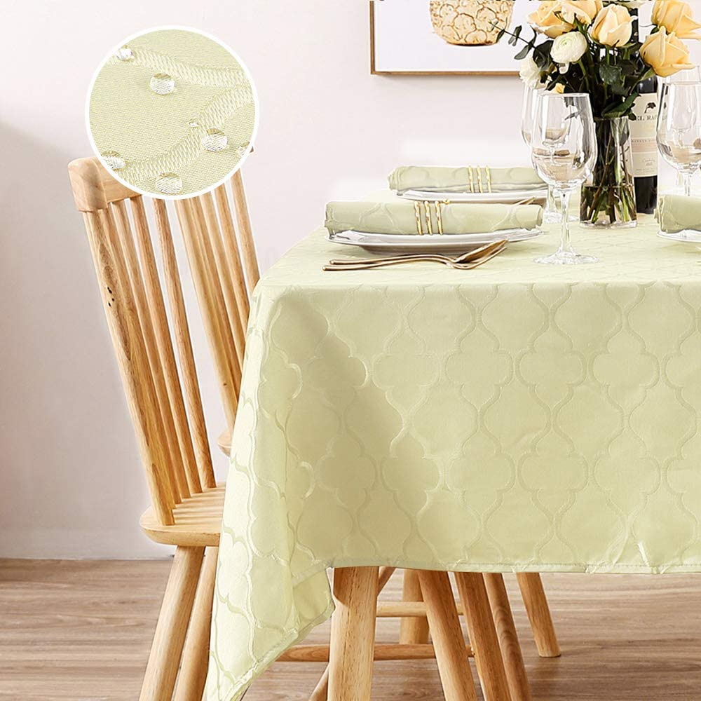 Macosy Rectangle Tablecloth Waterproof Ranking TOP20 Jacquard Genuine Free Shipping Table