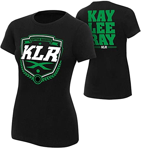 lowest WWE Authentic Wear 2021 Kay Lee Ray Scottish Daredevil Women's T-Shirt Black sale Small outlet online sale