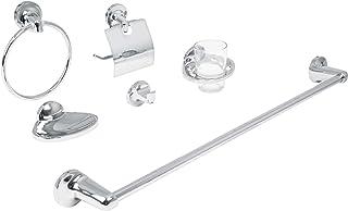 Foset Aqua AQA-4000, Juego de 6 accesorios para baño