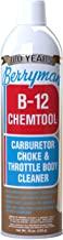 Berryman Products 0117 B-12 Chemtool Carburetor, Choke and Throttle Body Cleaner with Extension Tube [Not VOC Compliant in Some States], 16-Ounce Aerosol