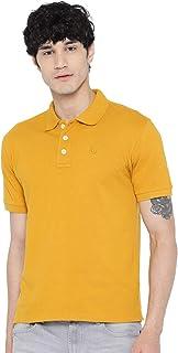 CHKOKKO Men's Polo Cotton Regular Fit Half Sleeves T-Shirt