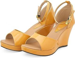 Divain Womens Wedge Fashion Sandal (Art_302)