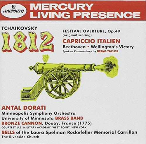 1812 Overture/Capriccio Italien (+ Beethoven: Well