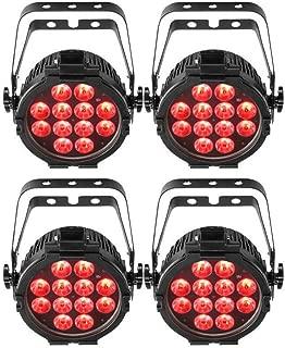 4 x Chauvet DJ SlimPAR Pro Q USB Wireless DMX RGBA LED Wash Light
