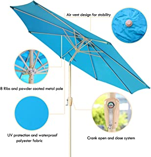 Best rainbow patio table umbrella Reviews