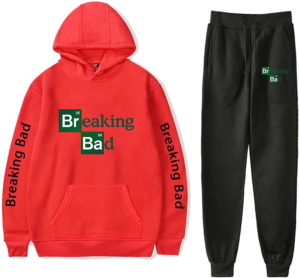 FALLMEAN Easy-to-use Breaking Bad Unisex Printed Fashionable Hoodie Houston Mall and Swea