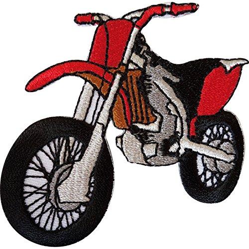 Écusson brodé à thermocoller ou à coudre pour moto tout-terrain