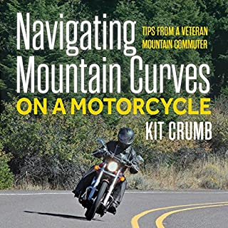 Navigating Mountain Curves on a Motorcycle cover art