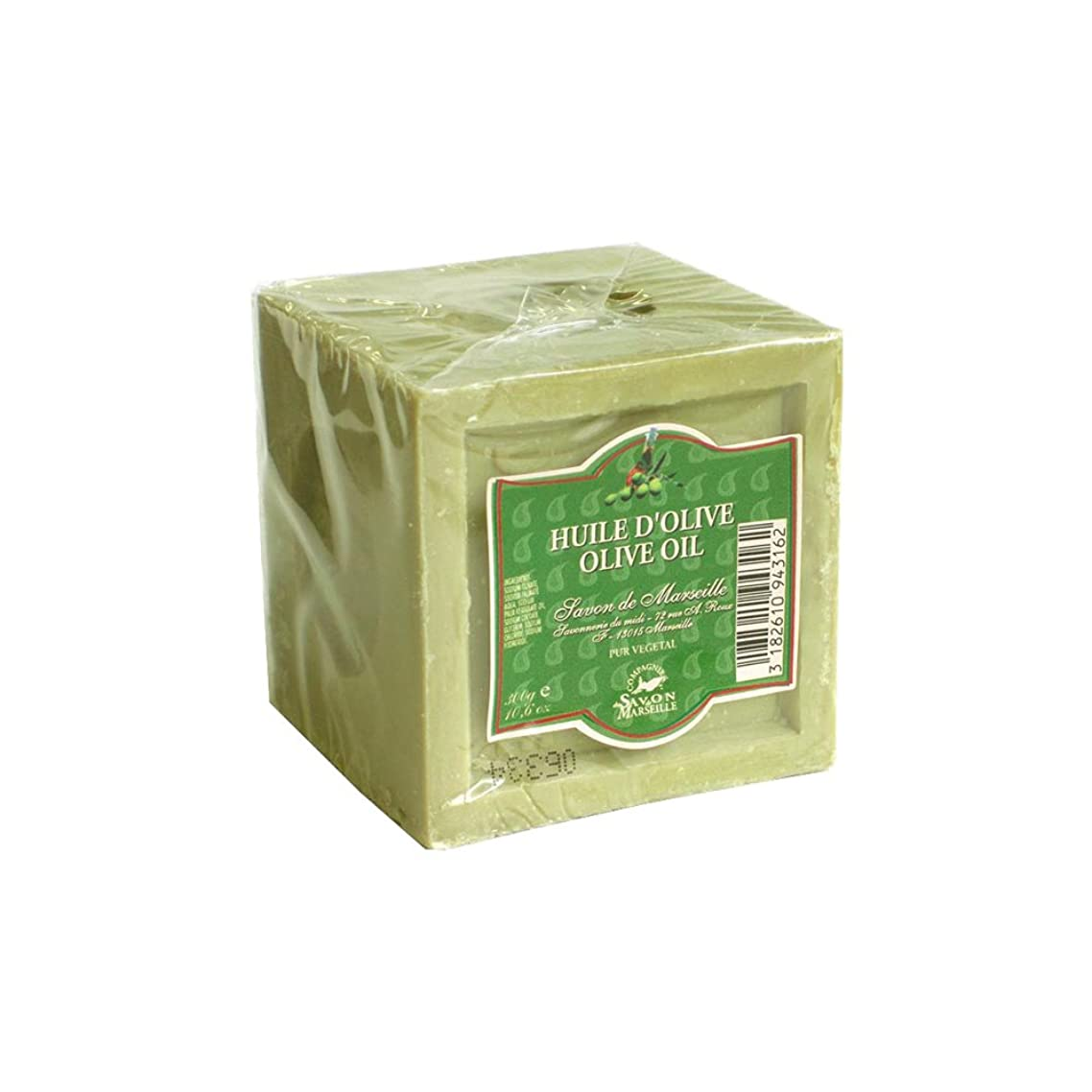 意識プーノシリーズマルセイユ石鹸 オリーブ300g