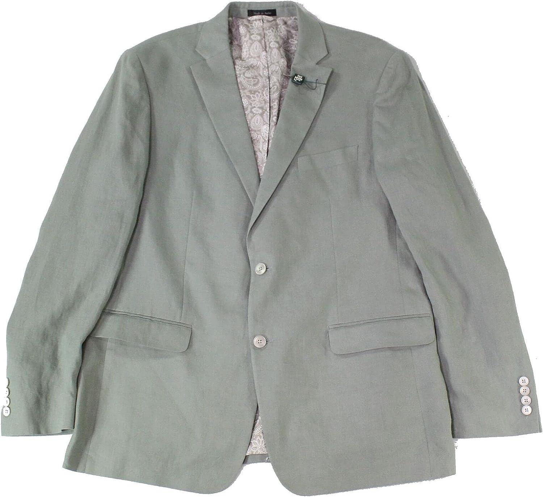 Ralph Lauren Mens Green Single Breasted Blazer 38S