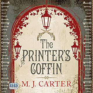The Printer's Coffin audiobook cover art