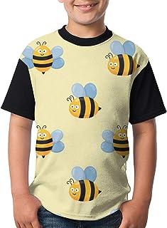Youth Tee T Shirt For Teenager Cat Head Cartoon Boy Tshirts