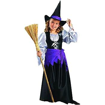 Hilka - Disfraz de bruja para niña, talla 10 años (H023-001 ...