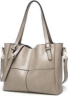 Bageek Handtaschen für Frauen Schultertasche Crossbody Tasche Leder Handtaschen LadiesTote Tasche für Arbeit