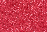 Westfalenstoffe * Junge Linie * Rot-Rosa Punkte 0,5m *