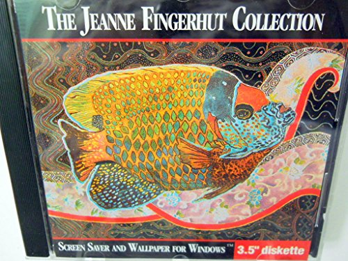 The Jeanne Fingerhut Collection Screen Saver and Wallpaper for Windows 3.5 inch Diskette