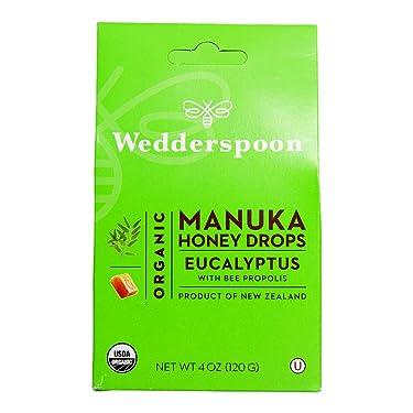 Gotas de miel orgánica de manuka, 4.0 onzas, Wedderspoon