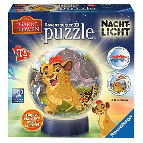 Ravensburger 11815 Lion King Nachtlicht Die Garde der Löwen 3D-Puzzle