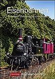 Eisenbahnen Wochenplaner. Wandkalender 2020. Wochenkalendarium. Spiralbindung. Format 25 x 35,5 cm - Harenberg